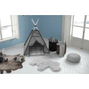Килим Lovely Kids Hippo Grey/Blue 55x90