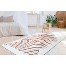 Rabbit Animal 400 ivory/taupe/white 120x160