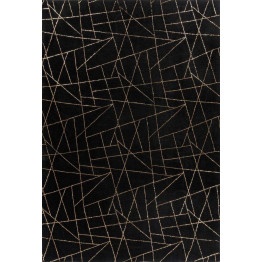 Килим Bijou 125 Black/Gold 200х290