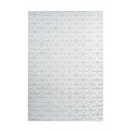 Килим Vivica 125 geo White/GreyBlue 80х150
