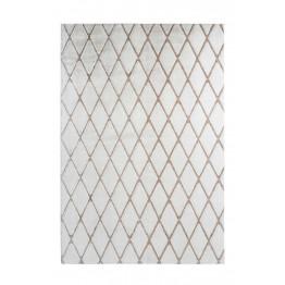 Килим Vivica 225 romb white/taupe 160х230
