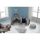 Килим Lovely Kids Cat Grey/Blue 81x90