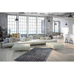 Ковер Luxury 410 Grey/Antracite 80x150