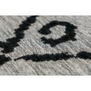Ковер River 110 Grey/Black 155х230