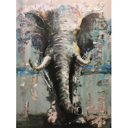 Картина Elephant Lightblue 75х100 cm