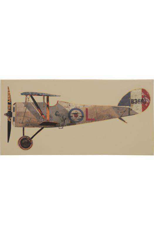 Картина Airplane 50х100 cm