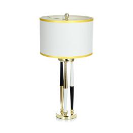Настільна лампа Adajio White / Black / Gold