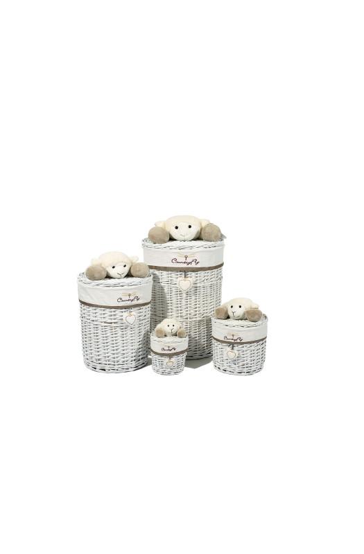 Набір кошиків Sheeps Grey/White