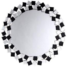 Настінне дзеркало Laguna S1825 Silver/Black