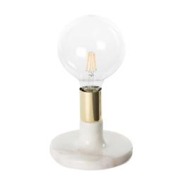 Настільна лампа Dallas KM White / Gold