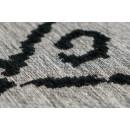 Килим River 110 Grey/Black 155х230