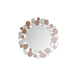 Настінне дзеркало Chelsy SM1925 Silver/Pink