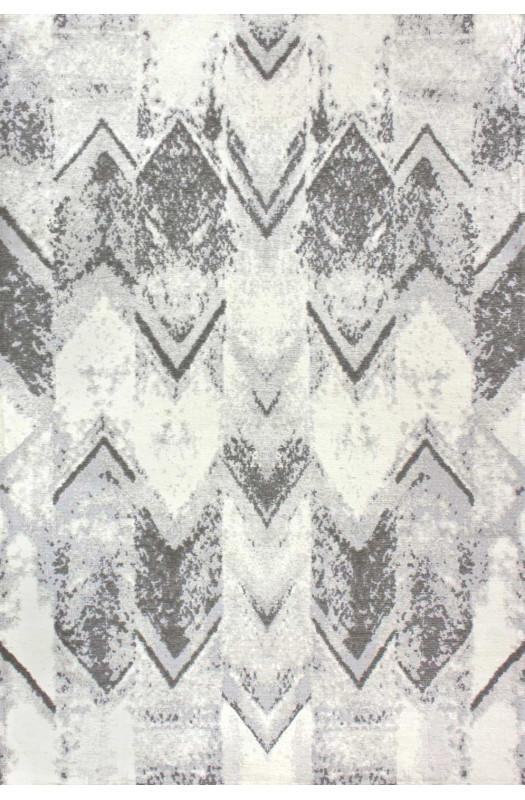 Килим Venus Arrow Light Grey з просоченнями 160х230