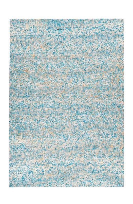 Килим Finish 100 Turquoise/Gold 120x170