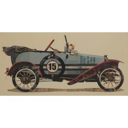 Картина Cabriolet 50х100 cm