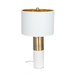 Настільна лампа Classic KM White / Bronze / White