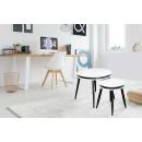 Набор столов Peel D110/2 White/Black