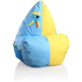 Крісло-мішок Happy Blue / Yellow