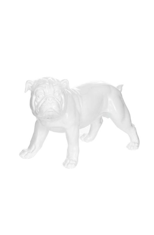 Скульптура Buldog K21 White