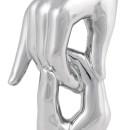 Скульптура Handshake Silver