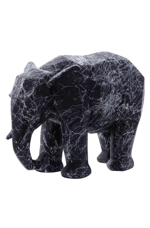 Скульптура Elephant Grey/White