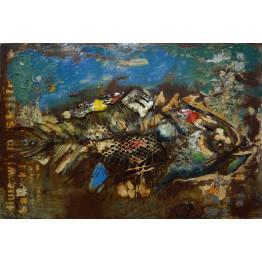 Фреска металева Fish