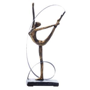 Скульптура Rhythmic gymnastics Bronze/Gold