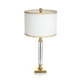 Настільна лампа Adajio White / Gold