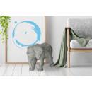 Скульптура Elephant K210 Grey