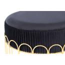 Табурет Drum T425 Black / Gold