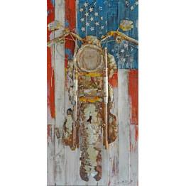 Фреска металева USA