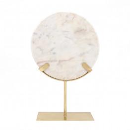 Скульптура Lenzi KM1077 Gold/White
