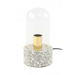 Настольная лампа Rondo K725 Grey/White