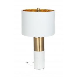 Настольная лампа Classic KM White/Bronze/White