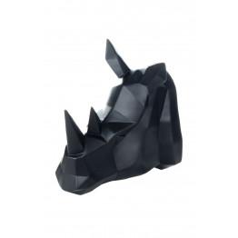 Скульптура настенная Rhinoceros K110 Black