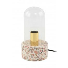 Настольная лампа Rondo K725 White/Red