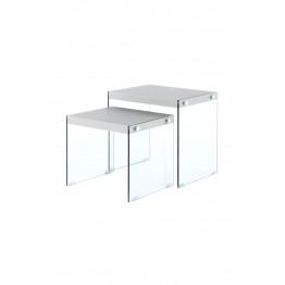 Набір столів Twins T225 / 2 Silver