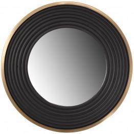 Настінне дзеркало Round 725 Gold/Black Ø 38cm