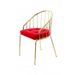 Стілець Palmira TM110 Red / Gold