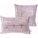 Набір подушок Prisma 325 Taupe/Gold