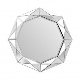 Настенное зеркало Amely SM1010 Silver