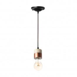 Підвісний світильник Punto MK White/Copper