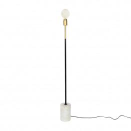 Підлогова лампа Garry MK187 White / Brass / Black