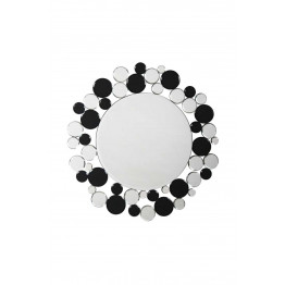 Настінне дзеркало Chelsy SM1925 Silver/Black