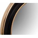 Настінне дзеркало Round 625 Gold/Black Ø 58 cm