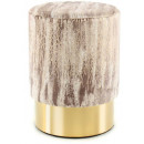 Пуф Caramel T125 Taupe / Gold