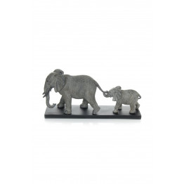 Скульптура Elephant Family K110 Grey