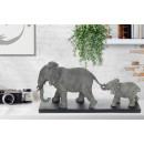 Скульптура Elephant Family K110 Grey
