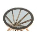 Стол Favor SM225 Grey/Pinkgold