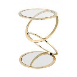 Стіл Chain SM525 Gold